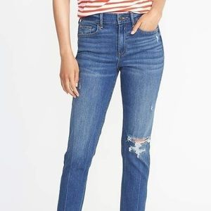 Old navy high rise power jean size 2